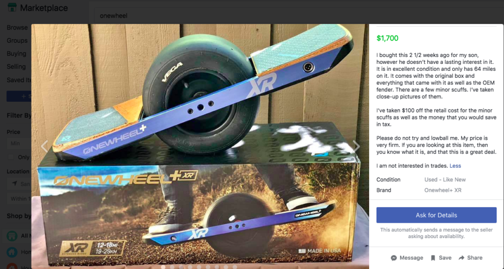 How to Buy a Used Onewheel: Finding a Great Deal! – oneRADwheel