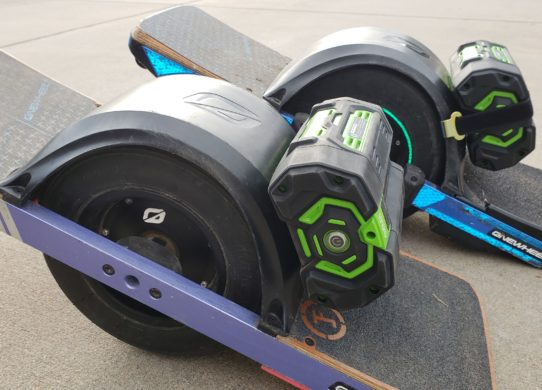 How to Increase Onewheel Range? Comparing EGO Battery Kits